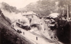 India Heritage free photo - Goom Railway Station - India. Circa 1940s