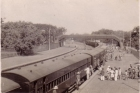 India Heritage free photo - Barrackpore Railway Station - India. Circa 1940s
